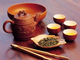 Kiniškų arbatų degustacija