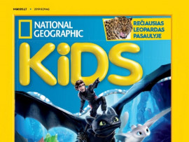 "Žurnalo ""National Geographic KIDS"" prenumerata"