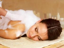 Arabiškas muilo masažas