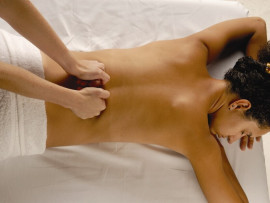 Shiatsu nugaros masažas